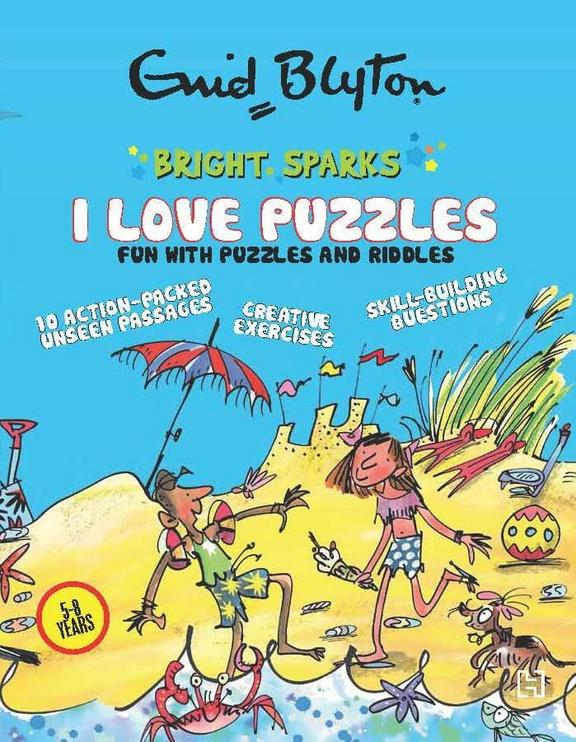 I Love Puzzles : Fun With Puzzles & Riddles
