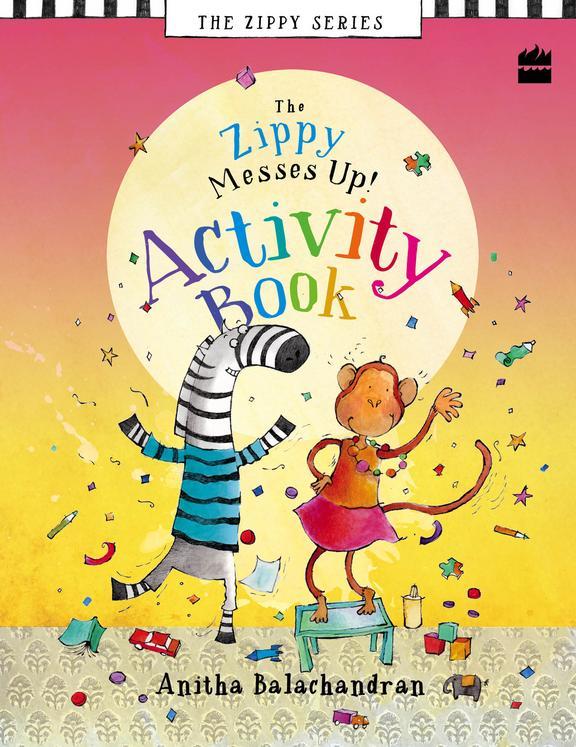 Zippy Messes Up Activity Book