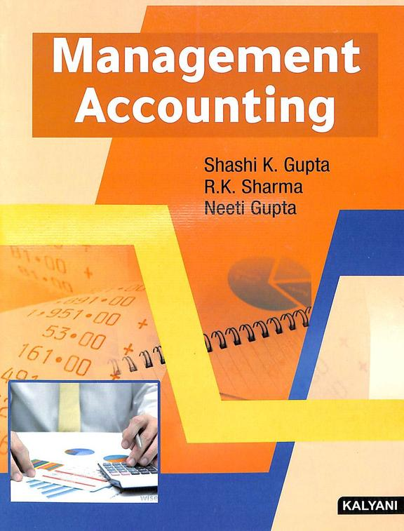 Management Accounting For Bba 4 Sem : Mys