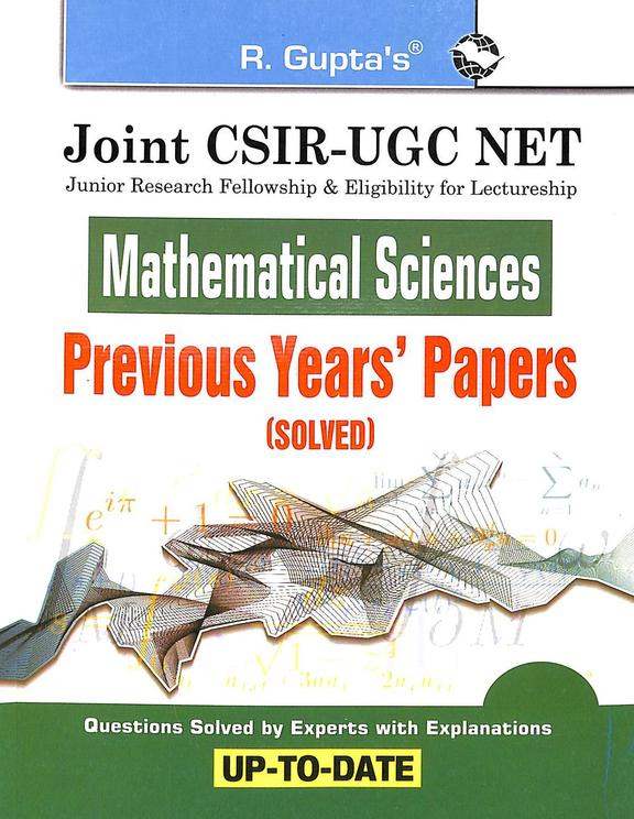 Joint Csir Ugc Net Mathematical Sciences Previous Years Papers Solve Up To Date