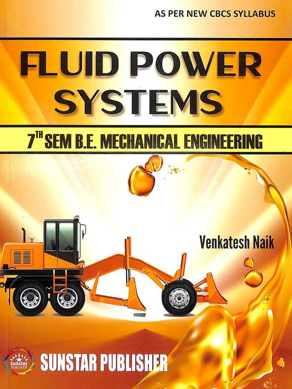 Fluid Power Systems For 7 Sem Be Mechanical Engineering