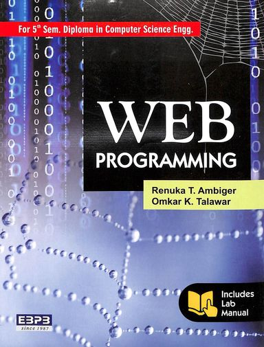 Web Programming For 5 Sem Diploma In Computer Science & Information Science  Engg.