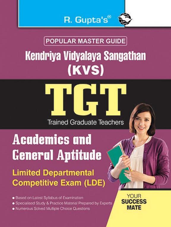 Popular Master Guide Kendriya Vidyalaya Sangathan Tgt Academics & General Aptitude