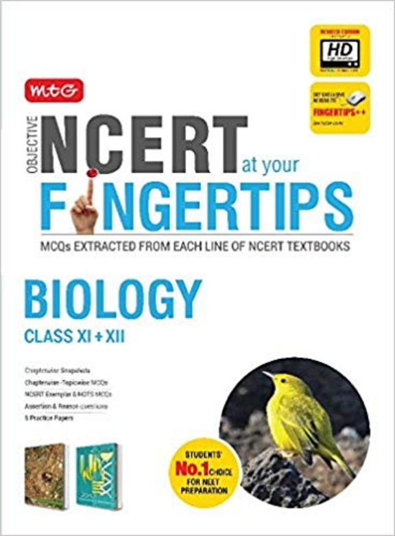 Biology Class 11 + 12 Objective Ncert At Your Finger Tips