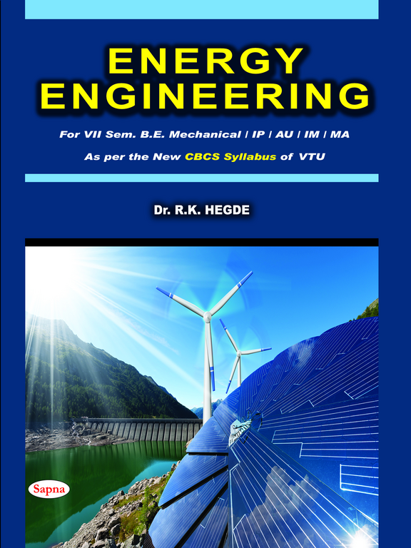 Energy Engineering For 7 Sem Be Mechanical Ip Au Im Ma : Vtu