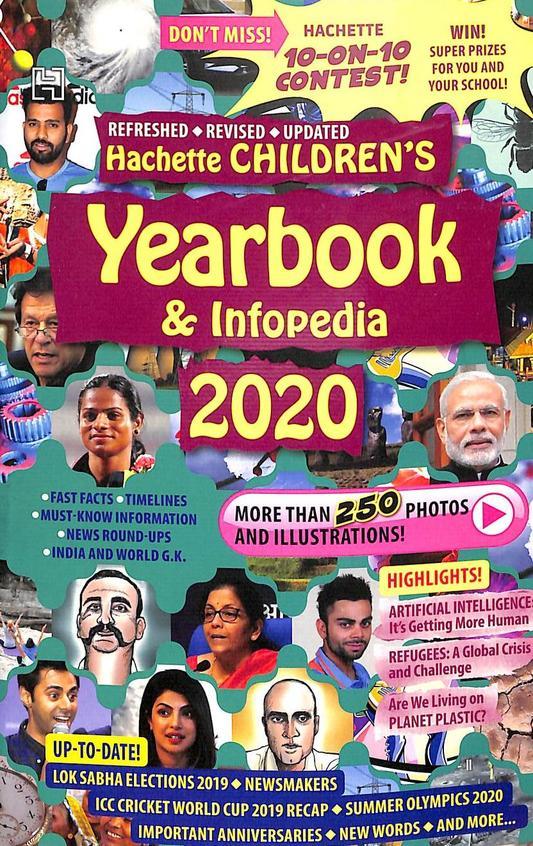 Hachette Childrens Yearbook & Infopedia 2020