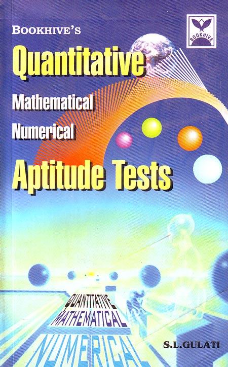 Buy Quantative Aptitude Test book : S l gulati, 8177291106