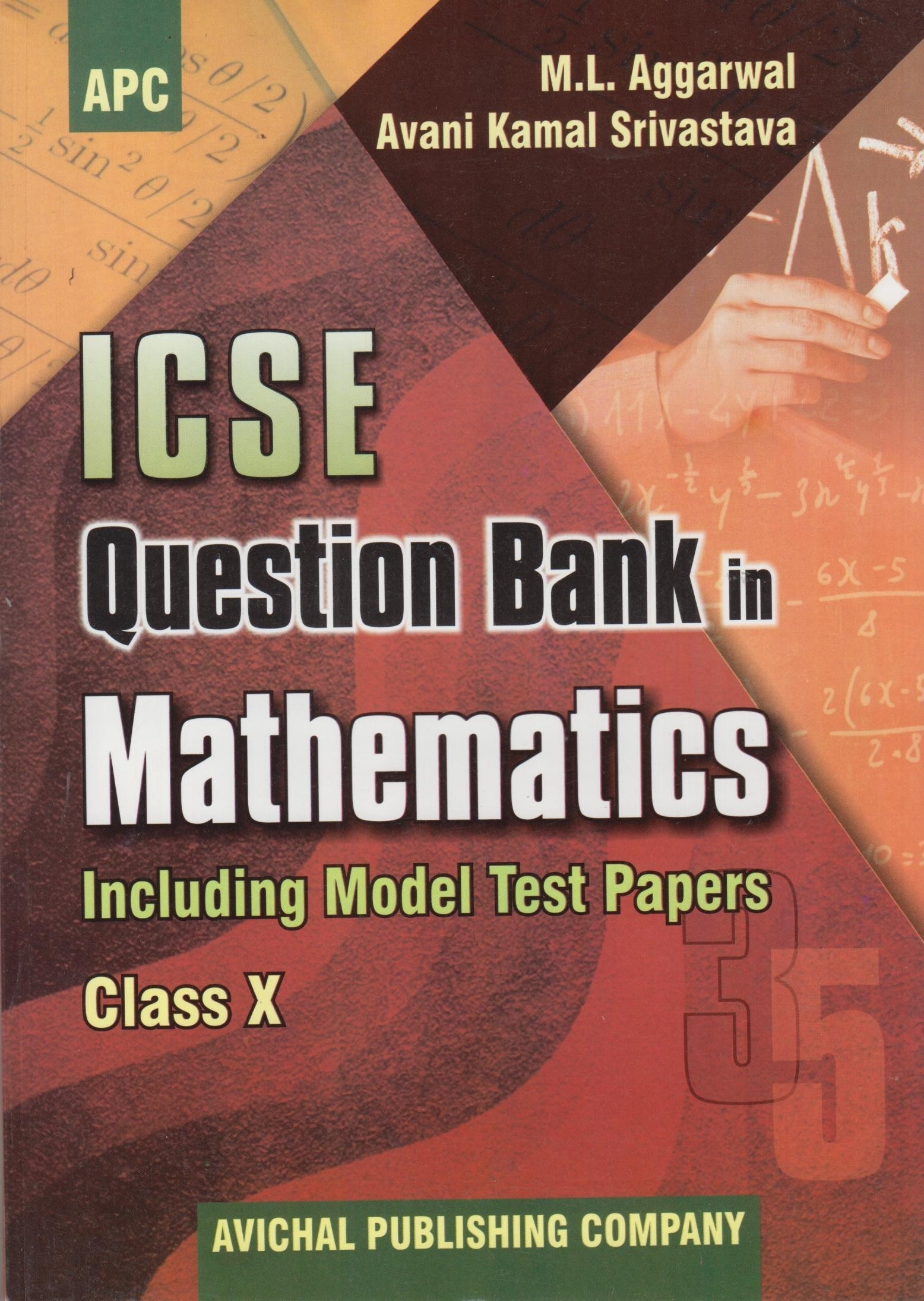 Mathematics Class 10 Question Bank Including Model Test Papers : Icse