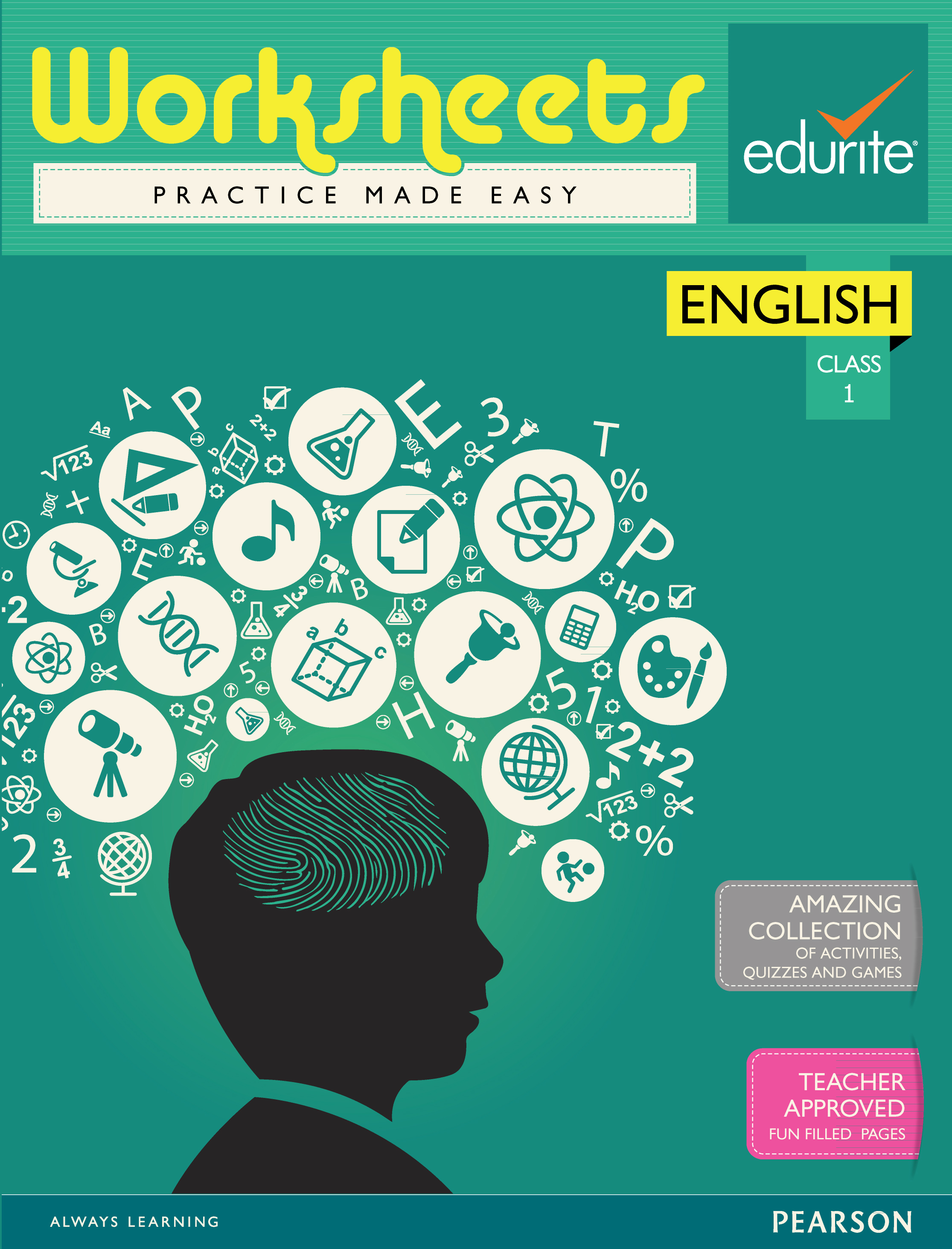 Buy Edurite Class 1 English Worksheets book : Edurite, 6666000579 ...