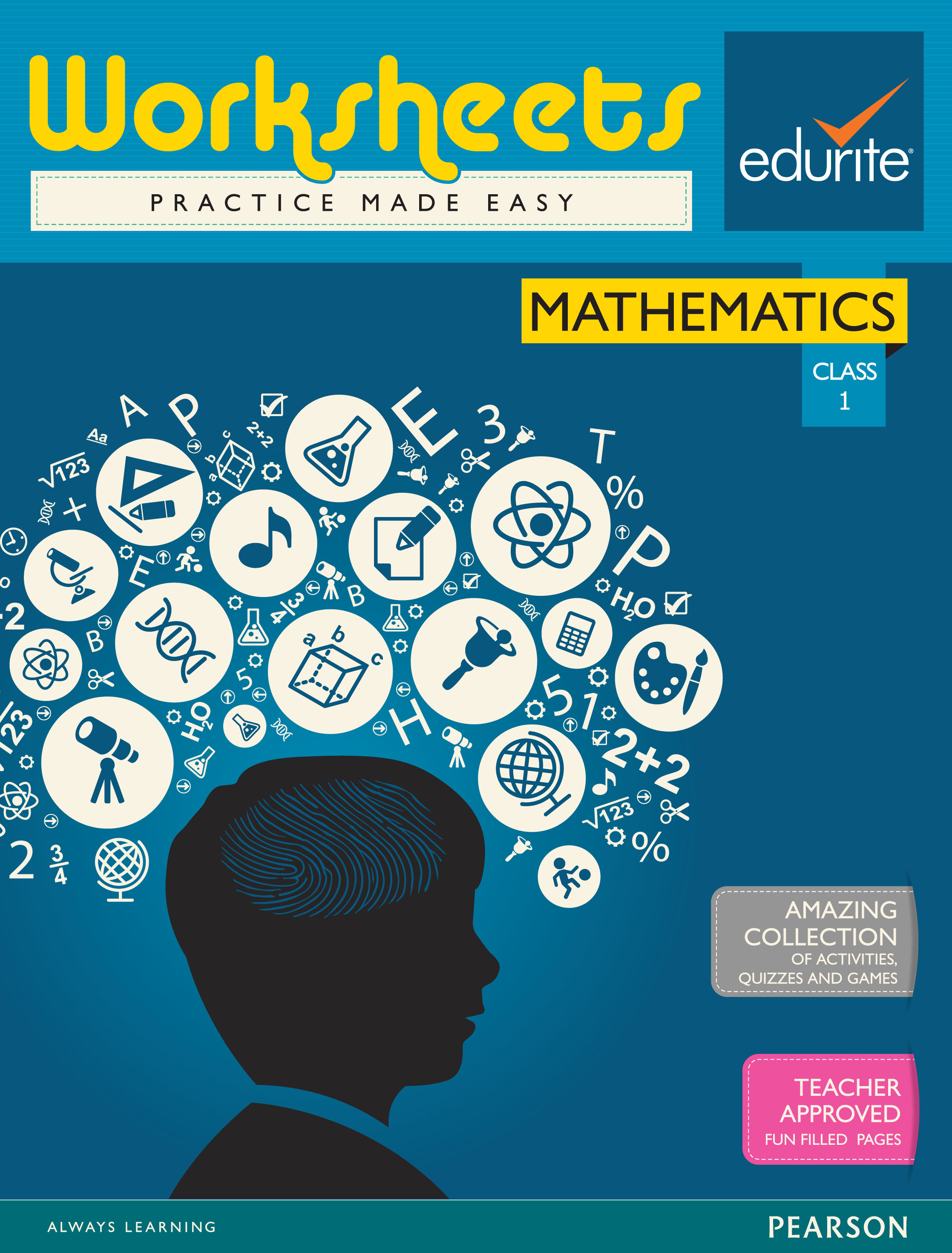 Buy Edurite Class 1 Mathematics Worksheets book : Edurite ...