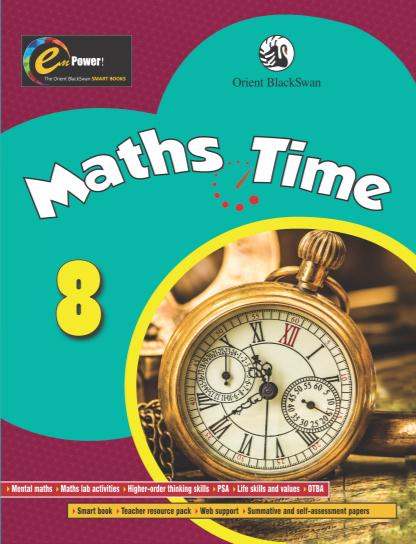 Buy Maths Time Class 8 book : Vijaya Srinivasan,Shubha