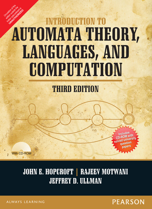 introduction to automata theory languages and computation 3e